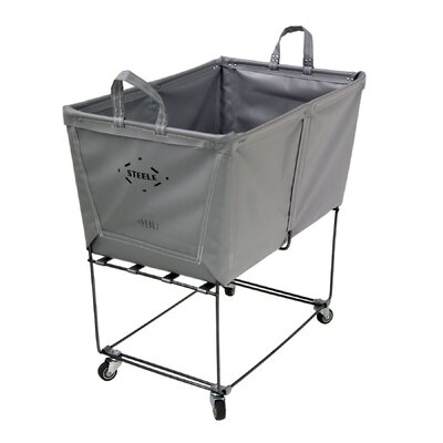 "Steeletex Elevated Utility Cart Size: 27"" H x 25.5"" W x 19.5"" D"
