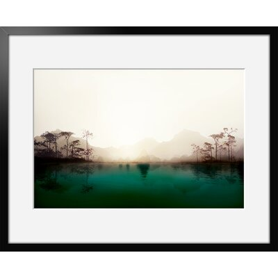 Atelier Contemporain Lacustre by Iris Framed Photographic Print
