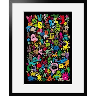 Atelier Contemporain Freaks by Aksel Framed Graphic Art