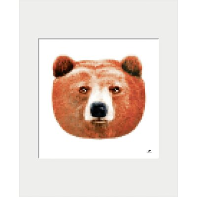 Atelier Contemporain Bear by AK-LH by Aksel Graphic Art