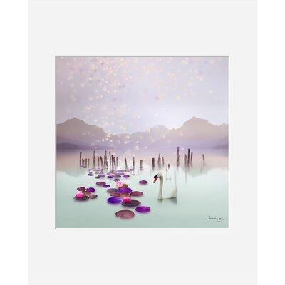 Atelier Contemporain Lotus by Iris Framed Graphic Art