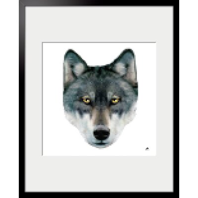 Atelier Contemporain Wolf by Aksel Framed Graphic Art