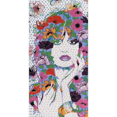 Atelier Contemporain Miss Florelle by Amylee Graphic Art Wrapped on Canvas