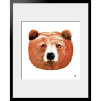 Atelier Contemporain Bear by Aksel Framed Graphic Art