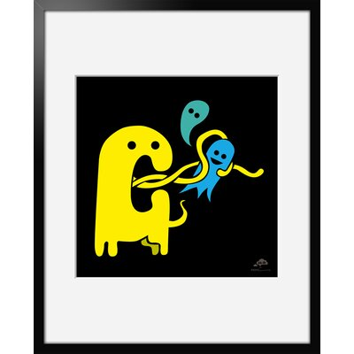 Atelier Contemporain Yellow Monster by Aksel Framed Graphic Art