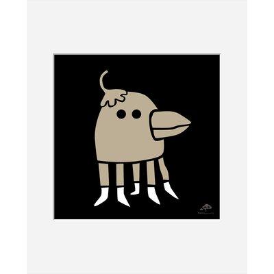 Atelier Contemporain Bird by Aksel Framed Graphic Art