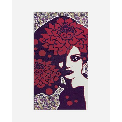 Atelier Contemporain Mme Violette by Amylee Framed Graphic Art