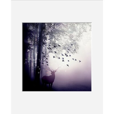 Atelier Contemporain Brume by Iris Framed Graphic Art