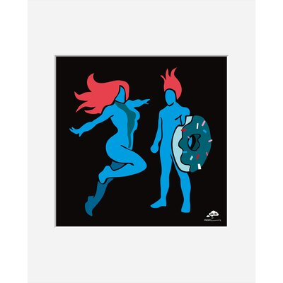 Atelier Contemporain Mr and Ms by Aksel Framed Graphic Art