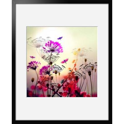 Atelier Contemporain Flower by Iris Framed Graphic Art