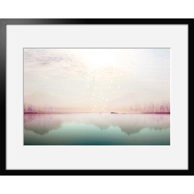 Atelier Contemporain Solitude by Iris Framed Graphic Art