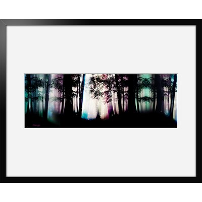 Atelier Contemporain Forest by Iris Framed Graphic Art