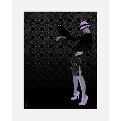Atelier Contemporain Hibou by Bahar Graphic Art