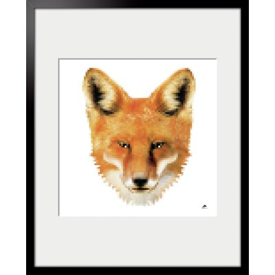 Atelier Contemporain Fox by Aksel Framed Graphic Art