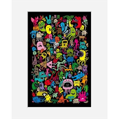 Atelier Contemporain Freaks by Aksel Graphic Art