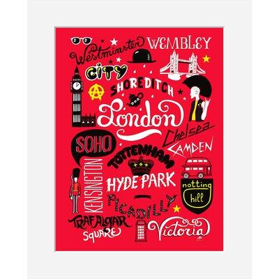 Atelier Contemporain Icon's London by Aksel Vintage Advertisement