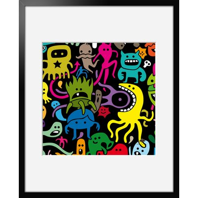 Atelier Contemporain Octopus by Aksel Framed Graphic Art