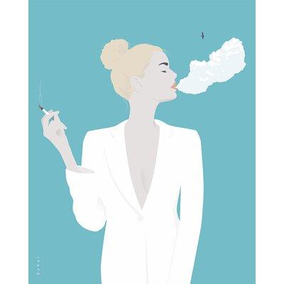 Atelier Contemporain Cigarette by Bahar Graphic Art on Canvas