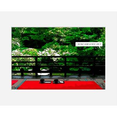 Atelier Contemporain Jardin by Philippe Matine Graphic Art
