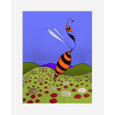 Atelier Contemporain Univers De L'Enfant 14 by Vidal Framed Graphic Art