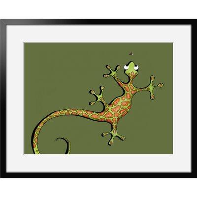 Atelier Contemporain Univers De L'Enfant 15 by Vidal Framed Graphic Art
