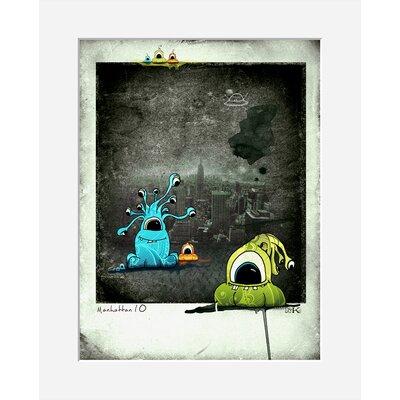 Atelier Contemporain Glups by Ds Kamala Graphic Art