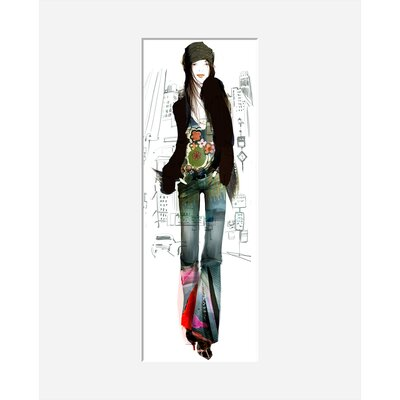 Atelier Contemporain New York Girl by Sophie Griotto Graphic Art