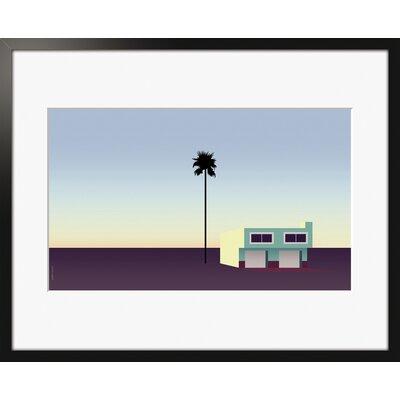 Atelier Contemporain The Palm House by Clément Dezelus Framed Graphic Art