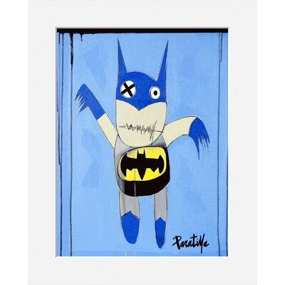 Atelier Contemporain Bat by Paratilla Graphic Art