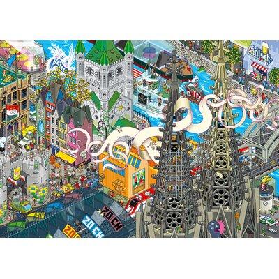 Atelier Contemporain Cologne by Eboy Graphic Art
