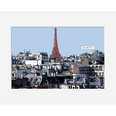 Atelier Contemporain Ou-Suis-Je by Philippe Matine Graphic Art