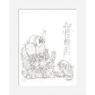 Atelier Contemporain Oxnibus by Uderzo Graphic Art
