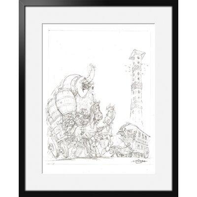 Atelier Contemporain Oxnibus by Uderzo Framed Art Print