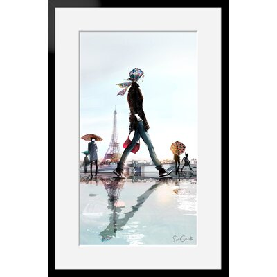 Atelier Contemporain Trocadero by Sophie Griotto Framed Graphic Art