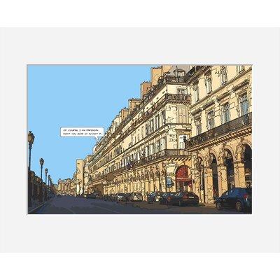 Atelier Contemporain Rivoli by Philippe Matine Framed Graphic Art