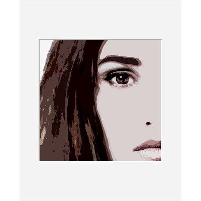 Atelier Contemporain Visage Du Monde 03 by Vidal Framed Art Print