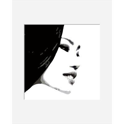 Atelier Contemporain Visage Du Monde 04 by Vidal Framed Graphic Art
