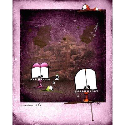 Atelier Contemporain Choukchouk by Ds Kamala Graphic Art Wrapped on Canvas