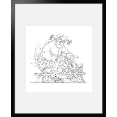 Atelier Contemporain Fou Rire by Uderzo Framed Art Print