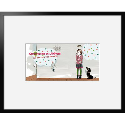 Atelier Contemporain Champion 07 by Griotto and Marcella Framed Graphic Art