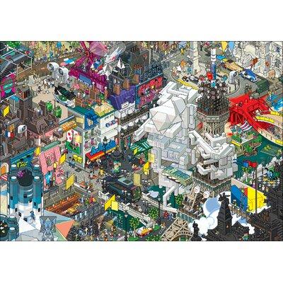 Atelier Contemporain Paris by Eboy Graphic Art