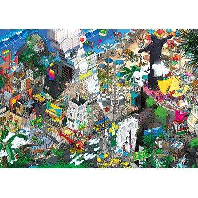 Atelier Contemporain Rio by Eboy Graphic Art