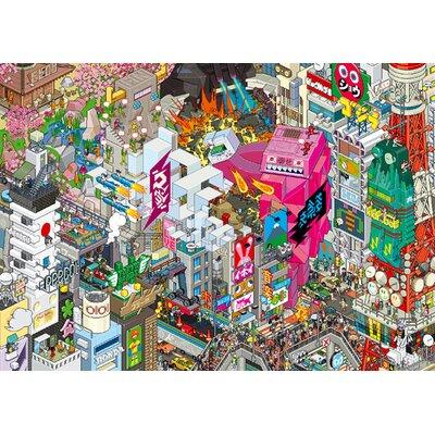 Atelier Contemporain Eboy Tokyo by Eboy Framed Graphic Art