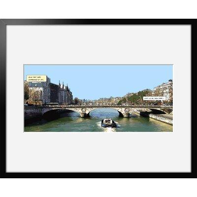 Atelier Contemporain Mon Cheri by Philippe Matine Framed Graphic Art