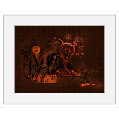 Atelier Contemporain Monty Paradise by Ds Kamala Framed Graphic Art