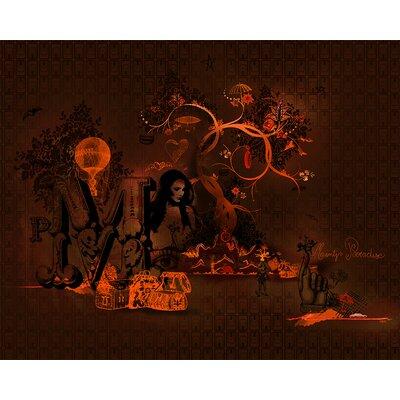 Atelier Contemporain Monty Paradise by Ds Kamala Graphic Art on Canvas