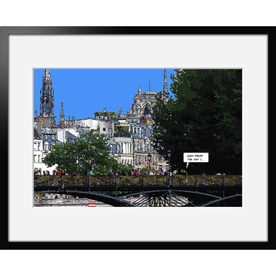 Atelier Contemporain Les Amoureux by Philippe Matine Framed Graphic Art