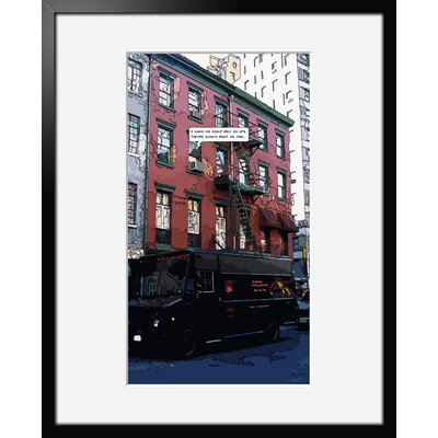 Atelier Contemporain Ny Express by Philippe Matine Framed Graphic Art
