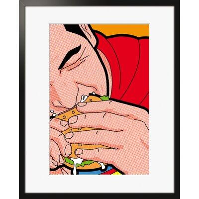 Atelier Contemporain Super Burger by Léon Framed Graphic Art