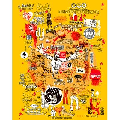 Atelier Contemporain Super Play by Pal Design Graphic Art on Canvas